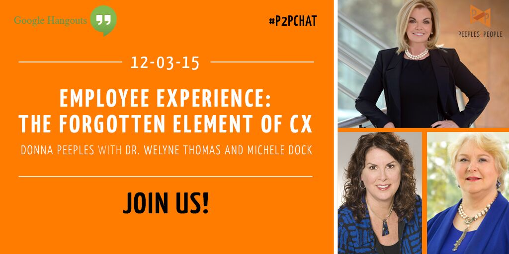 Employee Experience: The Forgotten Element of CX Google Hangout